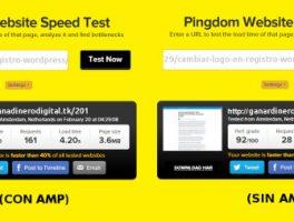 Cómo acelerar la carga en móviles con AMP y WordPress
