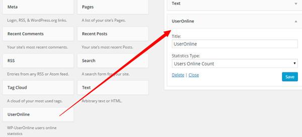 widget user online