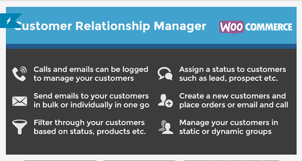 WooCommerce-Customer-Relationship-Manager