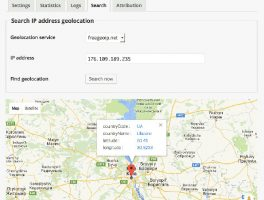 IP Geo bloqueador de usuarios spam para WordPress