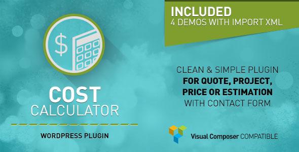 calculador de presupuestos para WordPress