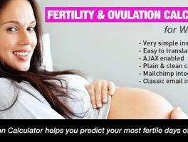 Plugin para calcular la fertilidad y ovulación en WordPress