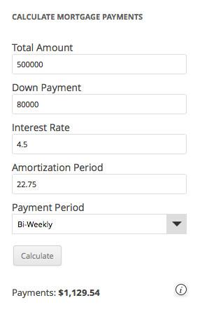 calculador de prestamos