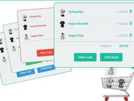 Plugin para carrito visual en movimiento para WooCommerce