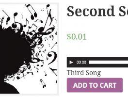 Como vender música con un reproductor de audio para WooCommerce