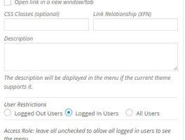 Mostrar el menú según los roles o privilegios de un usuario en WordPress
