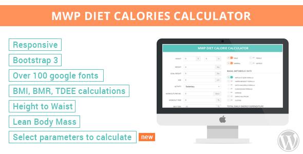 Plugin Calculador de Calorias para Dieta con WordPress