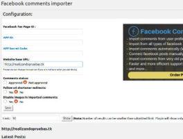 Como importar comentarios de Facebook a WordPress fácil y rápido