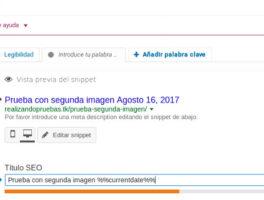 Como mostrar el año de forma dinámica en los títulos de una entrada con WordPress