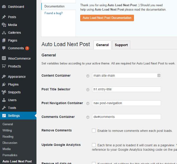 Como Cargar Entradas de forma Automática en WordPress