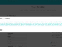 Plugin WooCommerce para aceptar Terminos y Condiciones en la compra