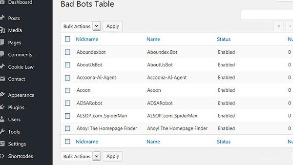 5 Plugins de WordPress para Detener los Malos Bots
