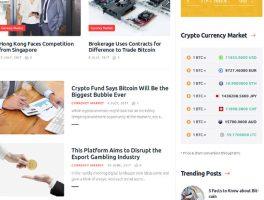 Los 5 mejores Plantillas para Bitcoins y Criptomonedas de WordPress