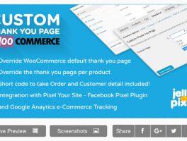 Página de Agradecimiento Personalizada para WooCommerce