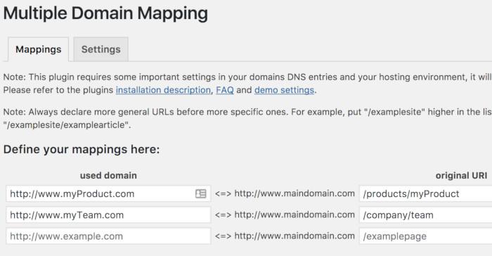 Multiples dominios adicionales